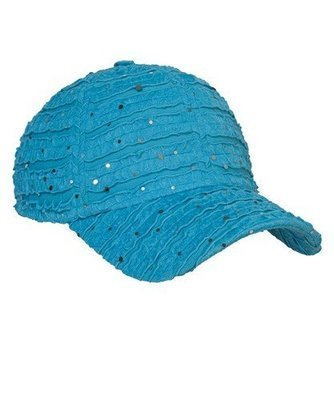 Glitter Cap - Aqua