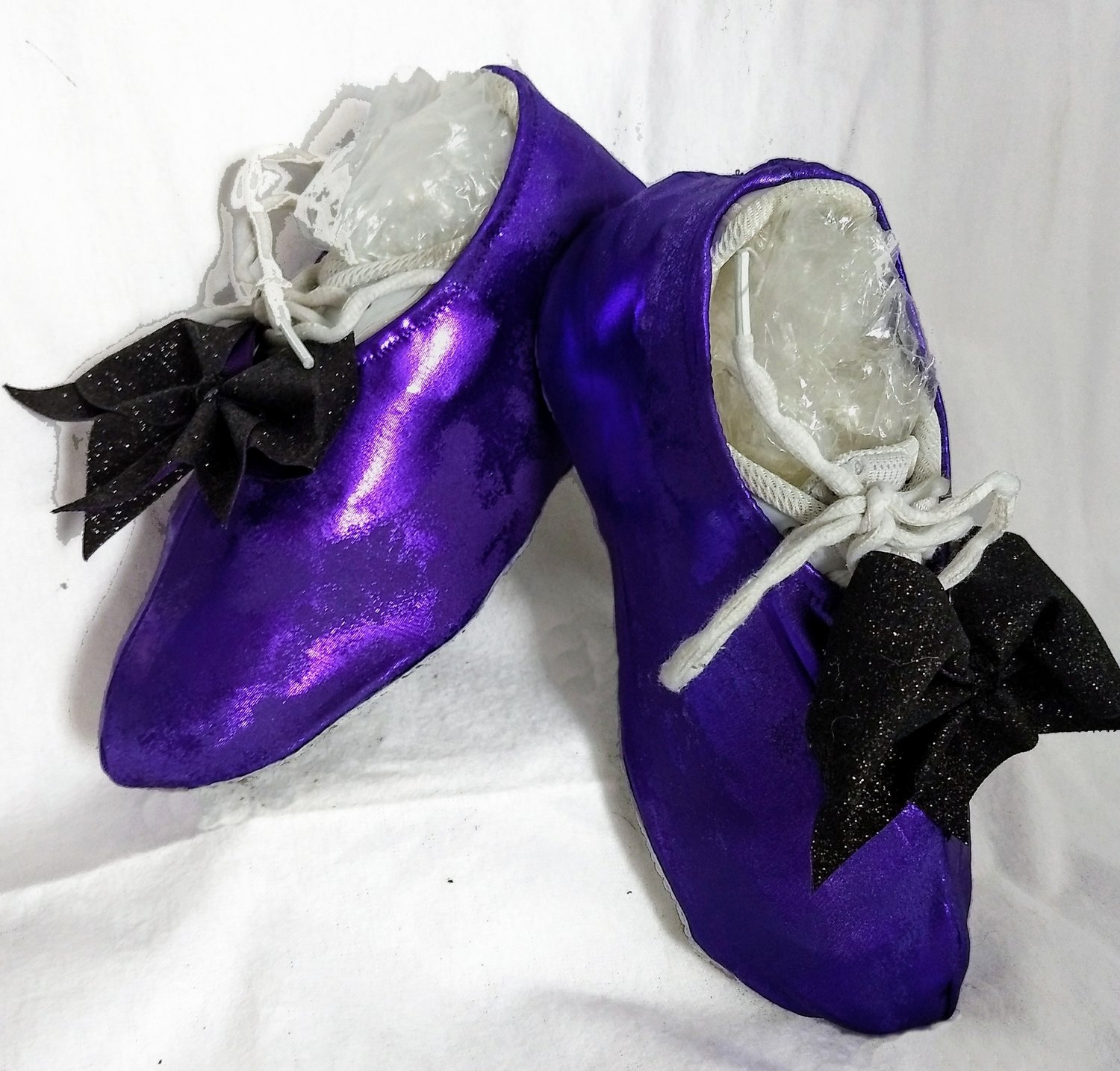 Distressed Cheer Shoe Covers