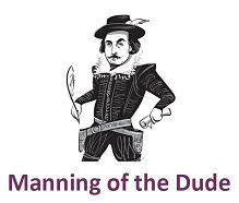 Shakespeare's Shorts – Manning of the Dude PDF Version
