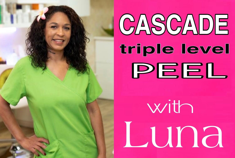 Cascade DIY Peel With Luna