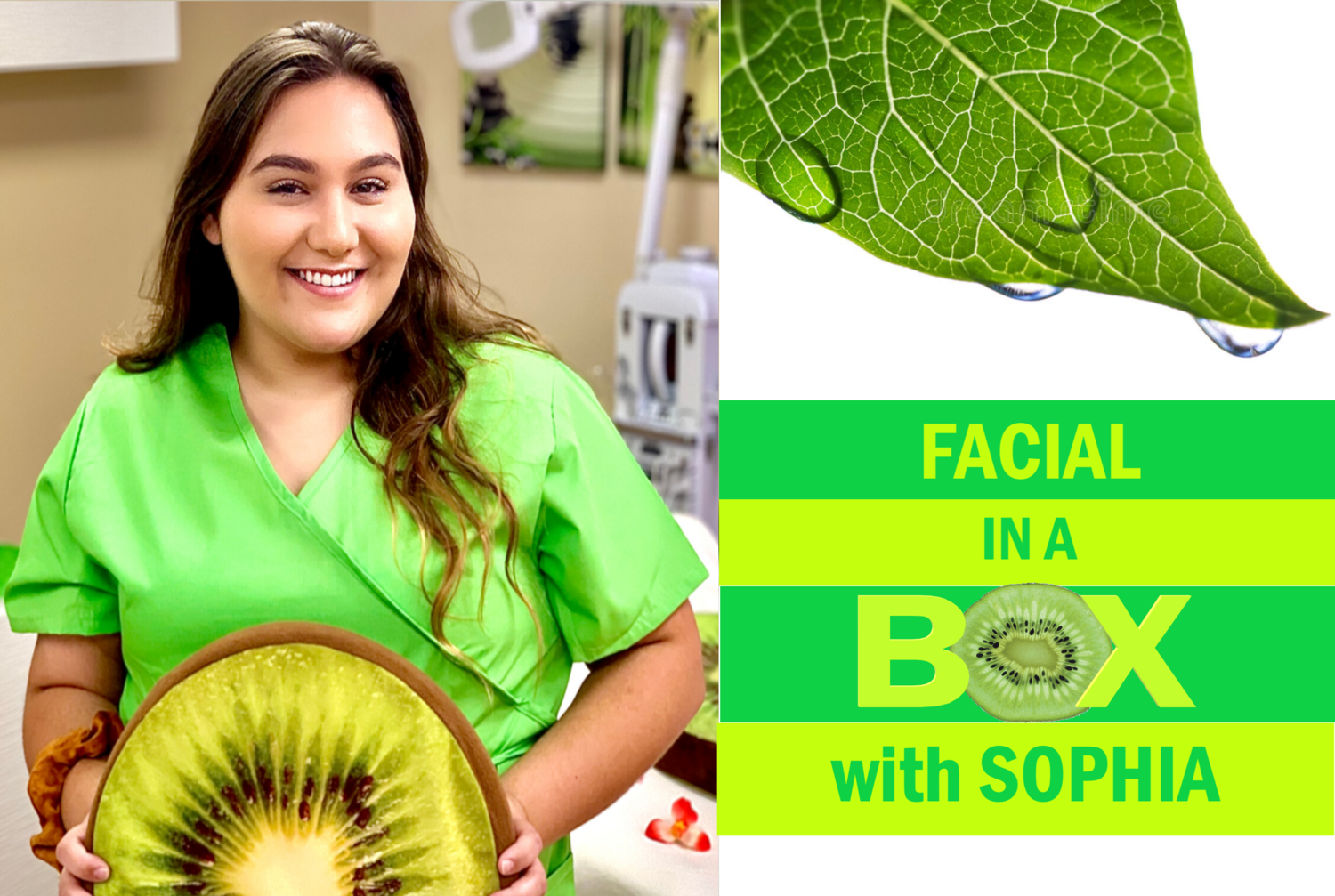 Facial In a Box With Sophia