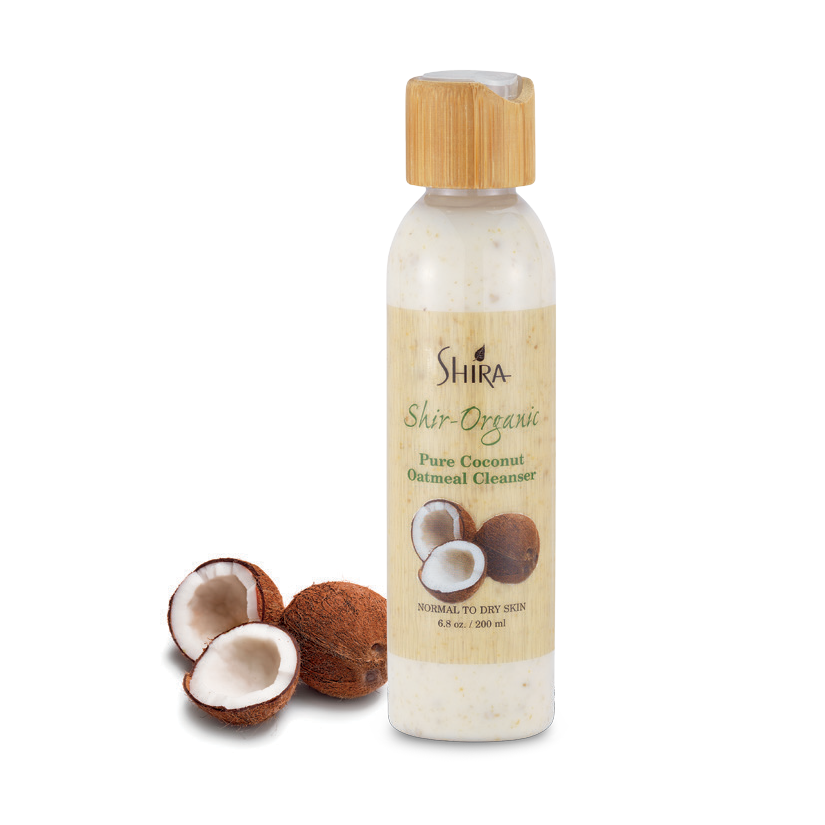 PURE COCONUT OATMEAL CLEANSER 200 ML