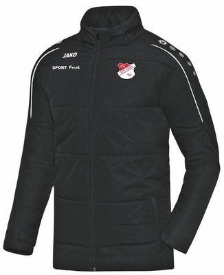 Jako Coachjacke Classico schwarz FV Rot Weiß Hellersdorf