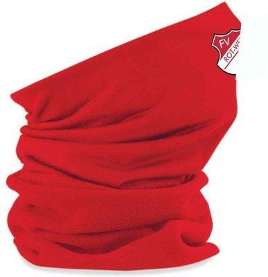 Fleeceschlauchschal rot FV Rot Weiß Hellersdorf