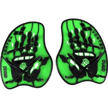 Arena Vortex Hand Paddle grün Gr.M
