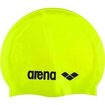 Arena Classic Silicone Schwimmkappe gelb