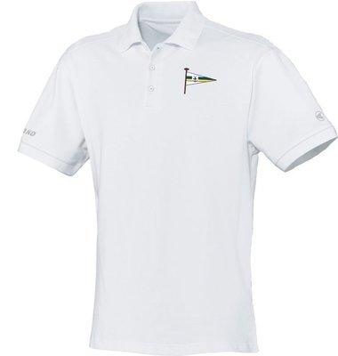Jako Polo-Shirt weiß Motorwassersportclub Oberspree