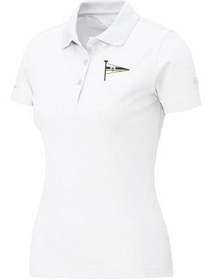 Jako Polo-Shirt weiß Damen Motorwassersportclub Oberspree
