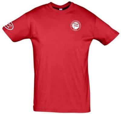 Baumwoll T-Shirt rot Erwachsene SV Sparta Lichtenberg