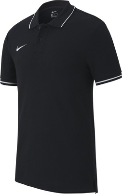 Team Club 19 Poloshirt schwarz