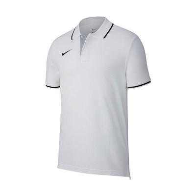Team Club 19 Poloshirt weiß
