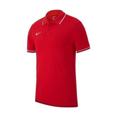 Team Club 19 Poloshirt rot