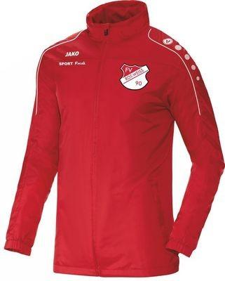 Jako Allwetterjacke Team rot FV Rot Weiß Hellersdorf