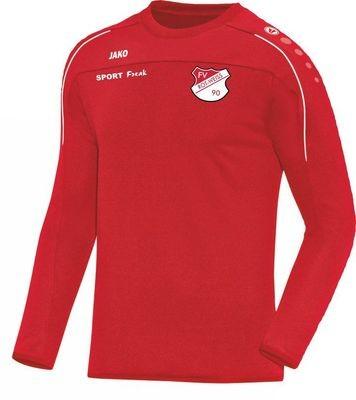 Jako Sweat Classico rot FV Rot Weiß Hellersdorf