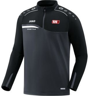 Jako Ziptop Competition anthrazit schwarz Berliner TSC