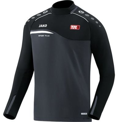 Jako Sweatshirt Competition anthrazit schwarz Berliner TSC