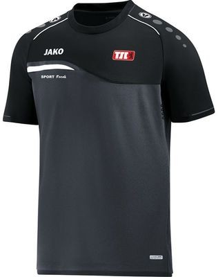 Jako T-Shirt Competition anthrazit schwarz Berliner TSC