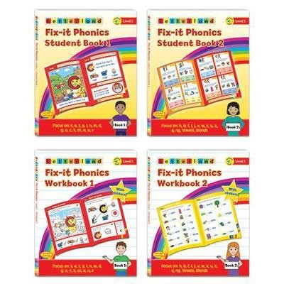 Fix-it Phonics - Level 1 - Student Pack (2nd Edition)