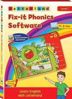 Компьютерная программа Fix-it Phonics Software Level 1 (5-7 лет) (2nd Edition)