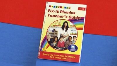 Fix-it Phonics - Level 1 - Teacher's Guide (2nd Edition)