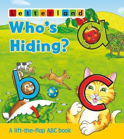 Who's hiding? (Flap book)