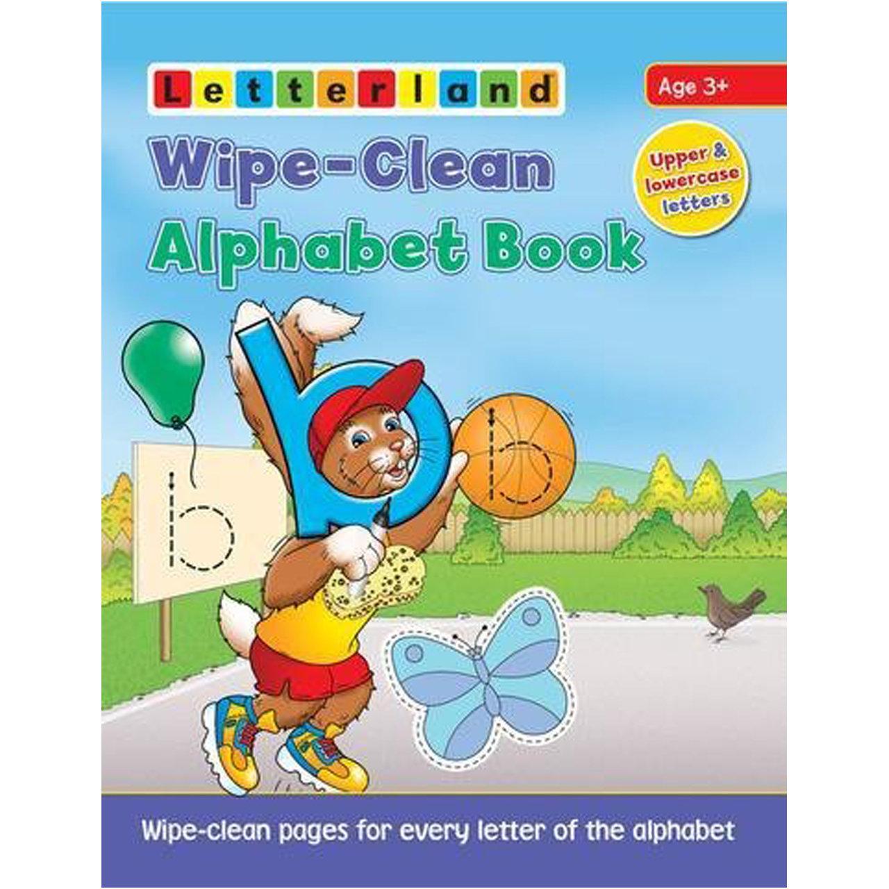 Wipe-Clean Alphabet Book