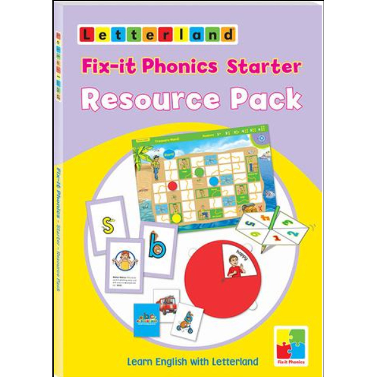 Fix-it Phonics - Starter Level - Resource Pack (Набор игр-пособий для учителя)