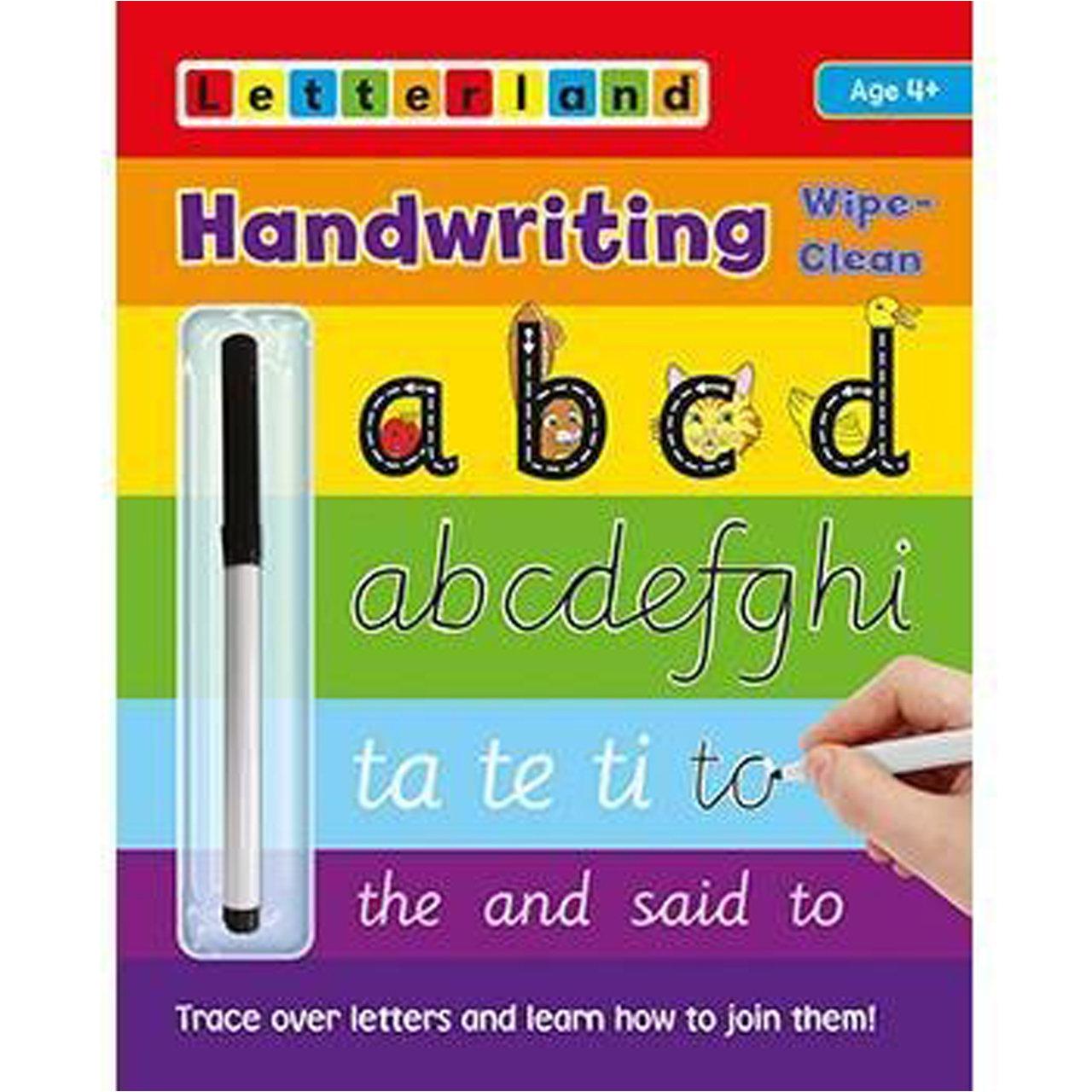 Handwriting Wipe-Clean