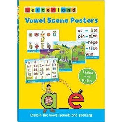 Vowel Scene Posters (Плакаты с гласными)