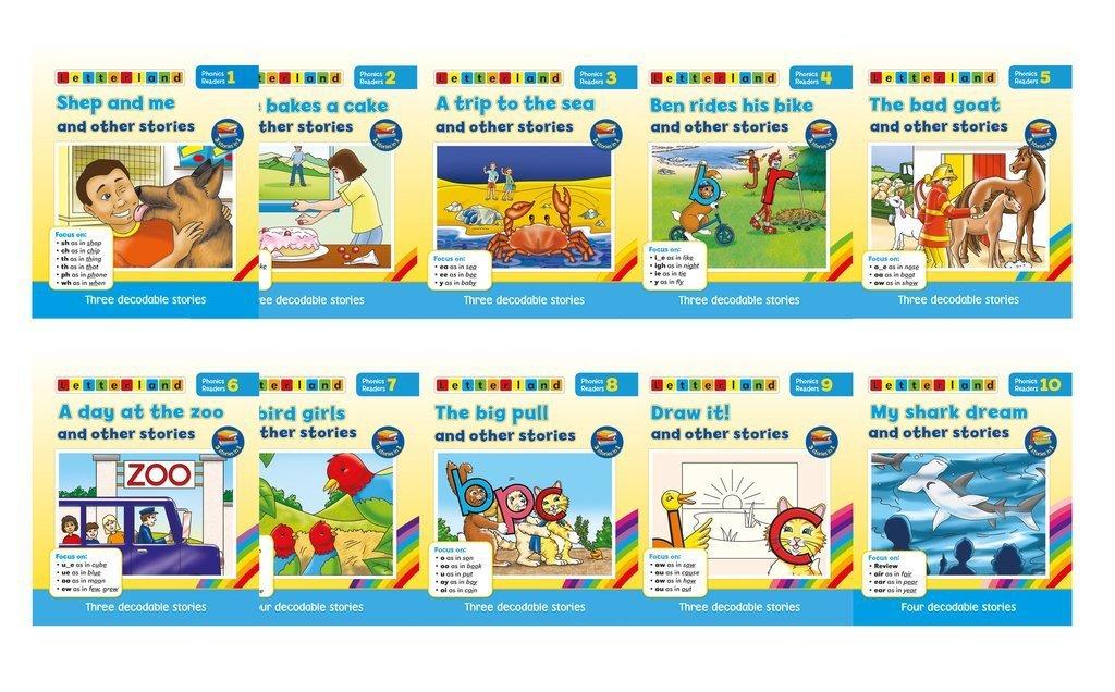 Phonics Readers - Blue Series (10 книг/32 истории)