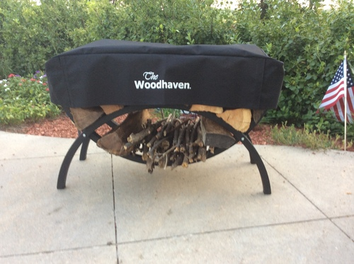 The Woodhaven 3ft Crescent Cover in Black