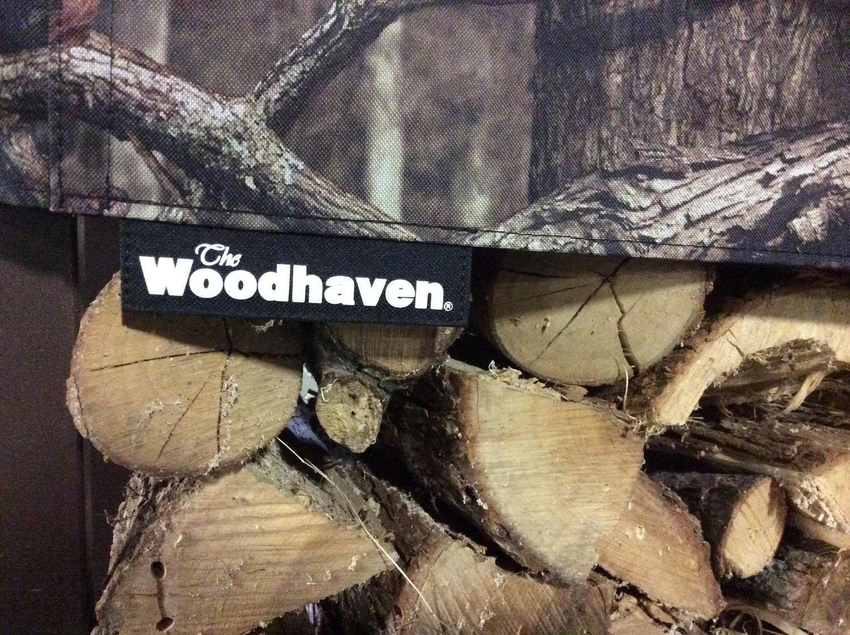 1/2 Cord Mossy Oak Seasoning Cover 8ft