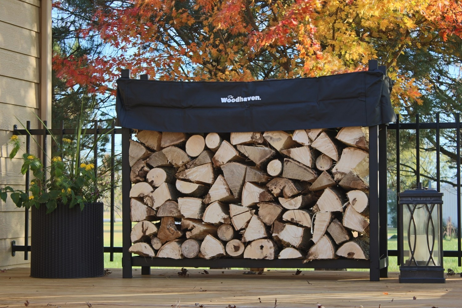 The Woodhaven 1/4 Cord Plus Rack