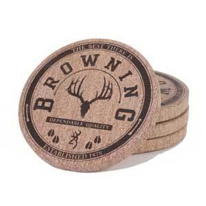 Browning Coaster Set