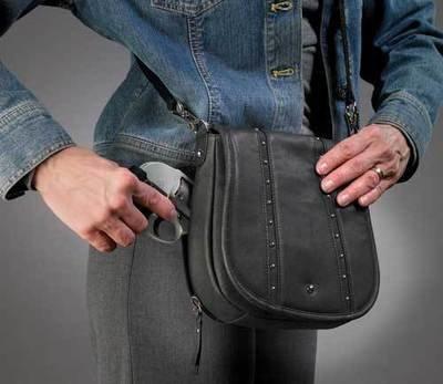 GTM-18 Black Blingy Shoulder Bag