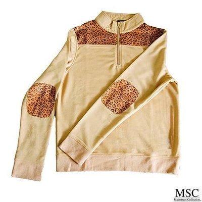 Leopard Print Pullover