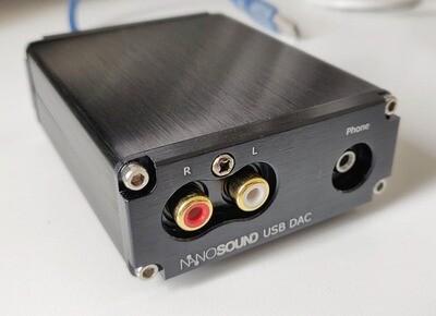 *NEW* NanoSound USB DAC (ESS ES9028Q2M 117db SNR DAC with headphone amp)