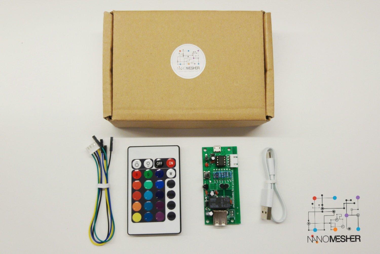 Nanomesher Raspberry Pi Power Switch / Attiny Development Board
