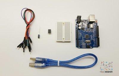 Attiny Microcontroller Programmer Kit including Arduino Uno & Attiny85