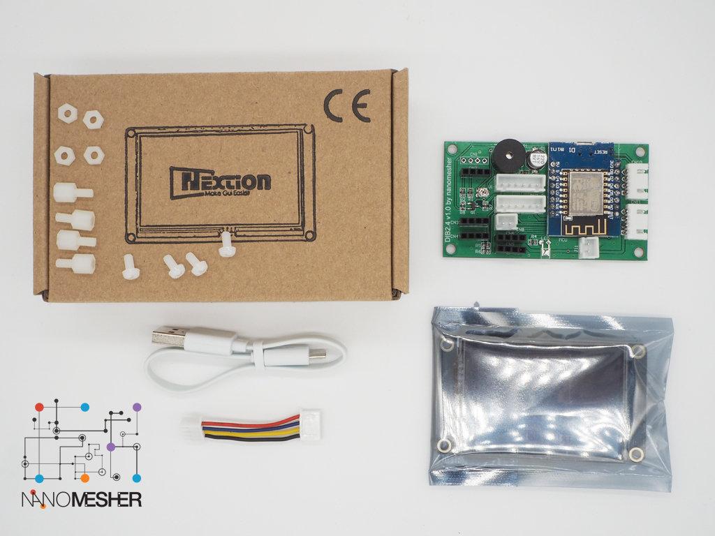 Nanomesher Wireless Human Machine Interface (2.4