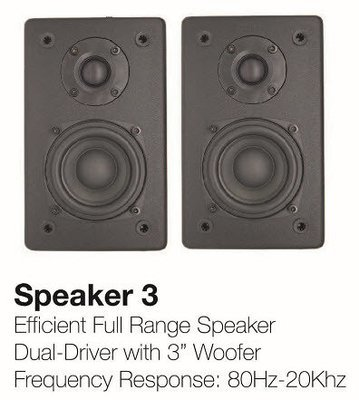 NanoSound Speaker 3 (Pair)