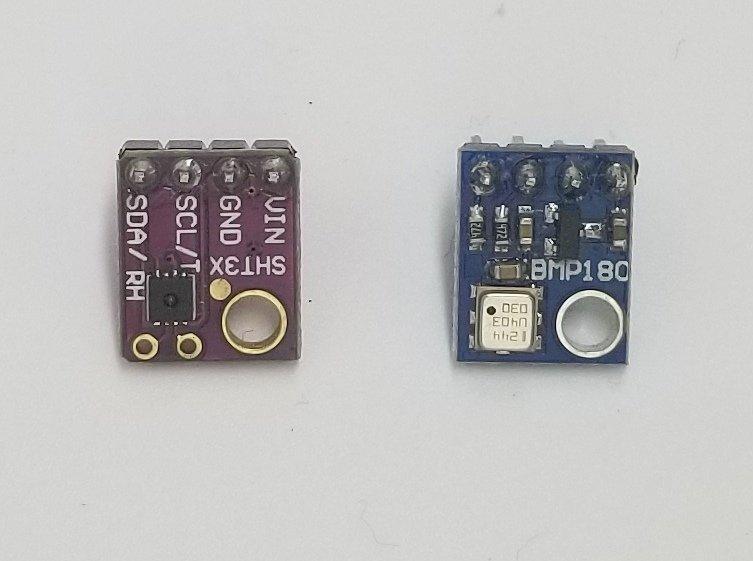 Weather Sensors Pack (Temperature/Humidity, Pressure Sensors)