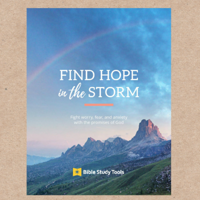 Find Hope in the Storm (Digital Pdf Copy)