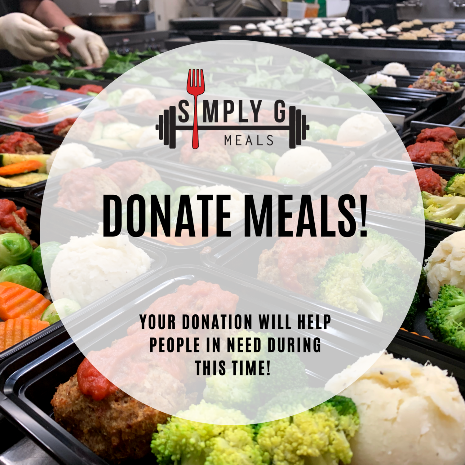 5 MEAL DONATION!
