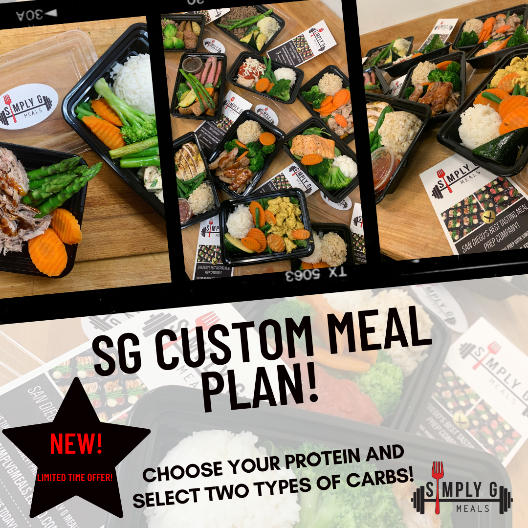 SG Custom Meal Plan (60 Meals) + 5 Donated Meals