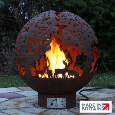900mm English Country Gas Firepit