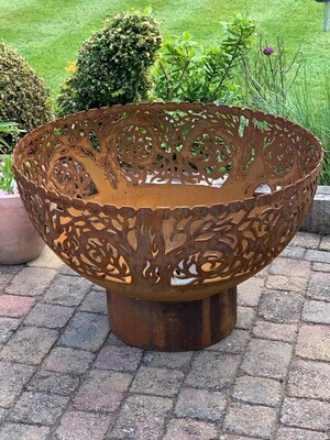 900mm Twisted Tree Firepit Bowl