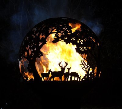 900mm English Country Firepit