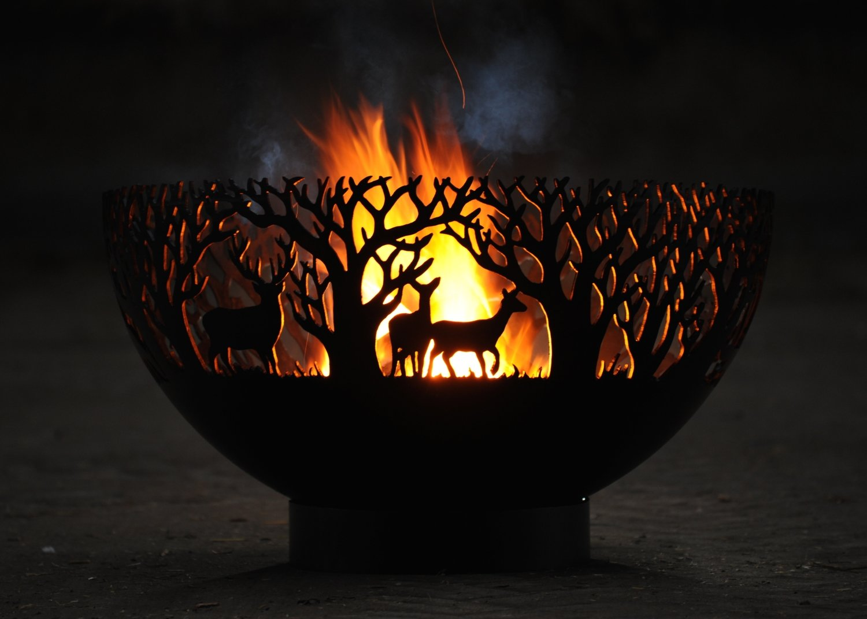 800mm Winter Firepit Bowl
