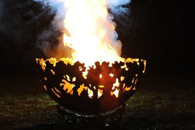 650mm Forest Firepit Bowl